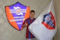 KARABÜKSPOR - Bliznichenko İmzayı Attı