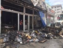 BENZIN - Bursa'da 17 Kişinin Zehirlendiği Yangın Kundaklama Çıktı...O Anlar Güvenlik Kamerasına Yansıdı