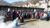 ORHAN FEVZI GÜMRÜKÇÜOĞLU - Büyükşehir Belediyesi'den  Yangın Ve Kurtarma Eğitimi