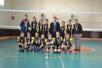 BEDEN EĞİTİMİ - Çepnili Voleybolcular Afyonkarahisar Şampiyonu Oldu