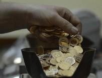 REKOR - Darphane'nin altın üretimi 16 yılın dibinde