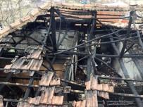ELEKTRİK KONTAĞI - Denizli'de Ev Yangını Açıklaması 1 Ölü