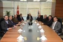 ORTA ASYA - Denizli Ticaret Odasından, Eximbank Genel Müdürüne Ziyaret