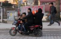ELEKTRİKLİ BİSİKLET - Elektrikli Bisiklete 5 Kişi Bindiler