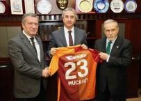 TRAFİK POLİSİ - Galatasaraylı Yöneticilerden Başkan Yanılmaz'a Ziyaret