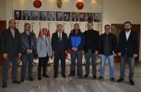 DOĞAN HABER AJANSı - Gazeteciler İzmir Valisi Erol Ayyıldız'ı Ziyaret Etti
