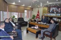 MURAT KAYA - Gevye Belediye Başkanı Kaya'dan Başkan Yaman'a Ziyaret