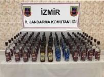 ALKOLLÜ İÇKİ - Jandarmanın Şüphesi Kaçak Alkolü Yakalattı