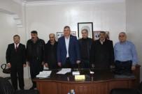 AHMET AYDIN - Kahta Ziraat Odasından Başkanvekili Aydın'a Destek