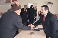 AHMET ÖZKAN - Kaymakam Özkan'dan Köy Ziyareti