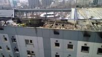 GEÇMİŞ OLSUN - Kocasinan Belediyesi'nde Söndürülen Yangından Sonra Temizlik Çalışmaları Başladı