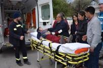 ATATÜRK BULVARI - Milas'ta Yola Fırlayan Çocuk Yaralandı