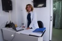 MEME KANSERİ - Mobil Kanser Tarama Aracı Çardak Beldesinde