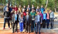 MEHMET AKİF ERSOY - MSKÜ Kız Ve Erkek Voleybol Takımları 1. Lige Yükseldi