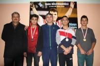BEDEN EĞİTİMİ ÖĞRETMENİ - Niyazi Mısri Sosyal Bilimler Lisesi'nden 3 Sporcu Halterde Derece Yaptı