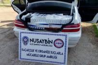 Nusaybin'de Kaçak Sigara Operasyonu