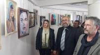 İKİNCİ SINIF VATANDAŞ - Ödemiş'te Kadın Portreleri Resim Sergisi