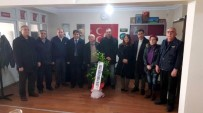 MEHMET KARAKAŞ - SEL-DER'den Salihli MHP'ye Hayırlı Olsun Ziyareti