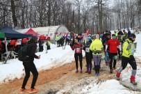 BİSİKLET - Sporcular, 7'Nci Çekmeköy Uluslararası Ultra Kış Maratonu'nda Yarıştı