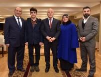 MECLİS ÜYESİ - TEOG Şampiyonu Kara,  Başkan Sekmen'i Ziyaret Etti