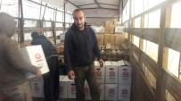 GÜMRÜK KAPISI - Yardım TIR'ları Suriye'ye Ulaştı