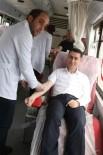 FEDAKARLıK - AK Partililerden Kızılay'ın Kan Bağışına Destek