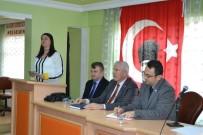EMNİYET MÜDÜRÜ - Alaçam'da Daire Amirleri, STK Ve Muhtarlar Toplantısı