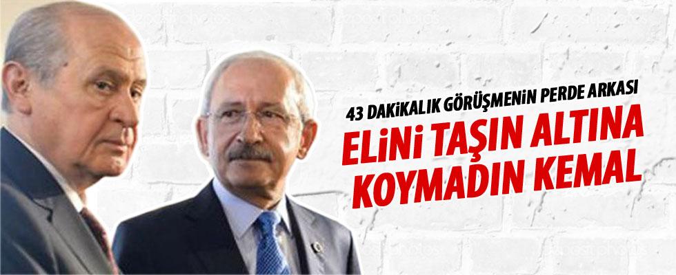 Bahçeli Kılıçdaroğlu'nu eleştirdi