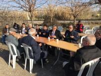 ŞEHİT BABASI - Başkan Özgüven'den Şehit Polisin Babaocağına Taziye Ziyareti