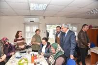 İBRAHIM KARAOSMANOĞLU - Başkanlardan, İZMEK'e Ziyaret