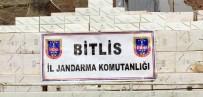 BİTLİS - Bitlis'te 48 Bin Paket Kaçak Sigara Ele Geçirildi