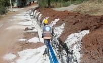 İÇME SUYU - Büyükşehir'den Honaz Yukarıdağdere İçme Suyuna Çözüm