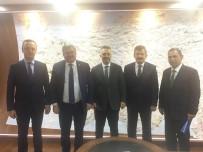 İÇME SUYU - Çaturoğlu, DSİ Genel Müdürü Murat Acu İle 2017 Yatırım Programını Görüştü