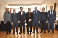 AHMET ATAÇ - CBÜ Yükseköğrenim Vakfı'ndan MAGİAD'a Ziyaret