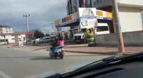 ELEKTRİKLİ BİSİKLET - Çocukların Elektrikli Bisikletle Tehlikeli Yolculuğu