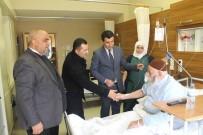 AHMET ŞAHIN - Din Görevlilerinden Hastalara 'Geçmiş Olsun' Ziyareti