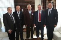 TıP FAKÜLTESI - ERÜ Rektörü Prof. Dr. Muhammet Güven, Hayırsever Ziyaretlerine Devam Ediyor