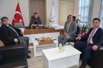 DERNEK BAŞKANI - Eskişehir Harp Malulü Gaziler, Şehit, Dul Ve Yetimleri Derneği'nden Kamu Hastaneleri Birliği'ne Ziyaret