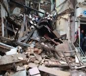 GEDİKPAŞA - Fatih'te 3 Katlı Metruk Bina Çöktü