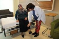 KISMİ FELÇ - Felç Geçiren Kadın Üç Saatte Normale Döndü