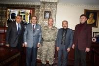 SİNAN ŞEN - İl Jandarma Komutanı Albay Şen'den, SESOB'a Ziyaret