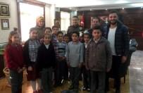 MÜDÜR YARDIMCISI - İlköğretim Okulu Öğrencilerinden Emniyet Müdürüne Ziyaret