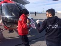 AMBULANS HELİKOPTER - Karaciğer Nakli Yapılacak Bebek Ambulans Helikopterlerle Nakledildi