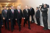 Kılıçdaroğlu - Bahçeli görüşmesi sona erdi
