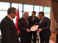 GEÇMİŞ OLSUN - Menderes'in Raporu Başbakan'da
