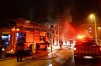 YAVRU KÖPEK - Metruk Evde Çıkan Yangın Korkuttu