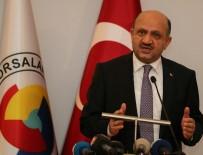 ERSIN EMIROĞLU - Milli Savunma Bakanı Fikri Işık Açıklaması