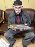 OLTA - Oltu Çayında 2.5 Kiloluk Sazan Balığı Yakaladı