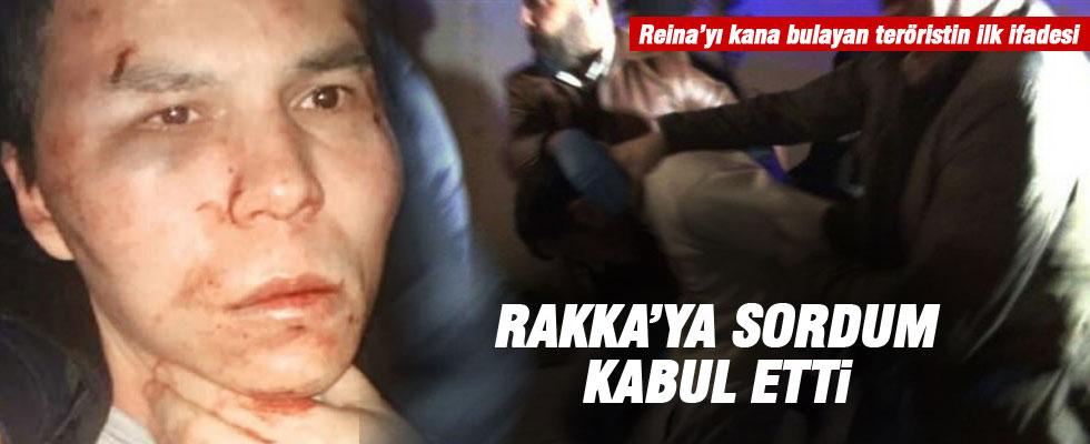 Reina katliamcısının ilk ifadesi