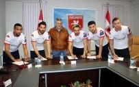 SAMSUNSPOR - Samsunspor'dan İmza Şov